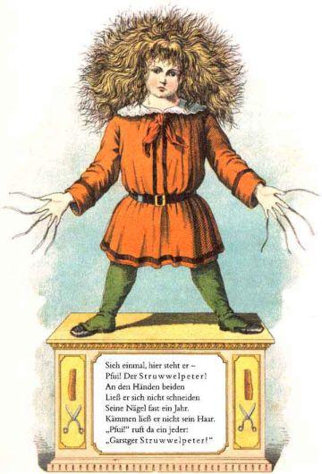 struwwelpeter, német